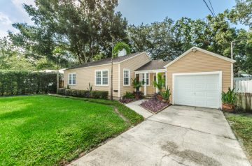 front of 4204 W Empedrado Street Tampa FL 33629