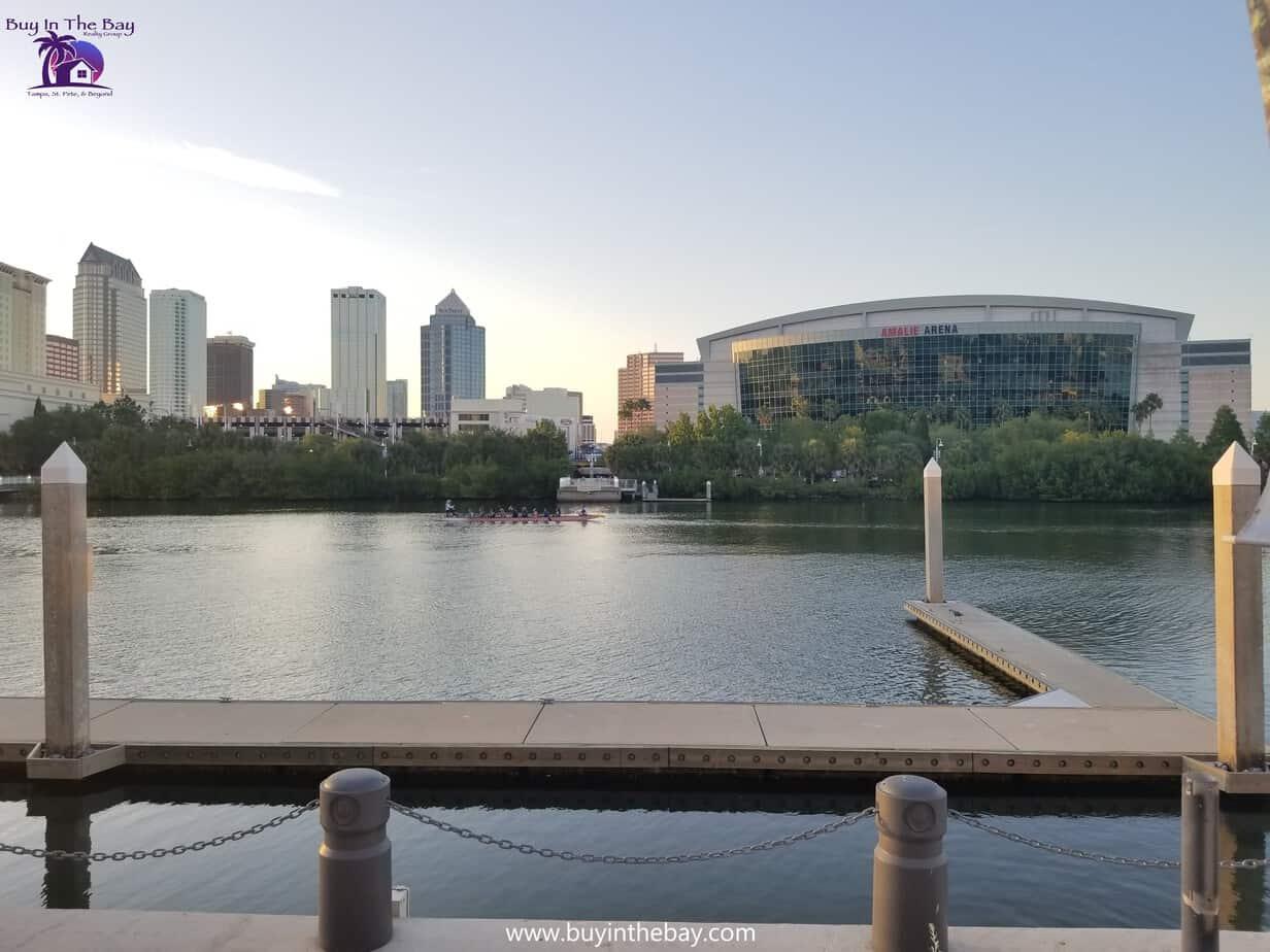 Amalie Arena Downtown Tampa FL