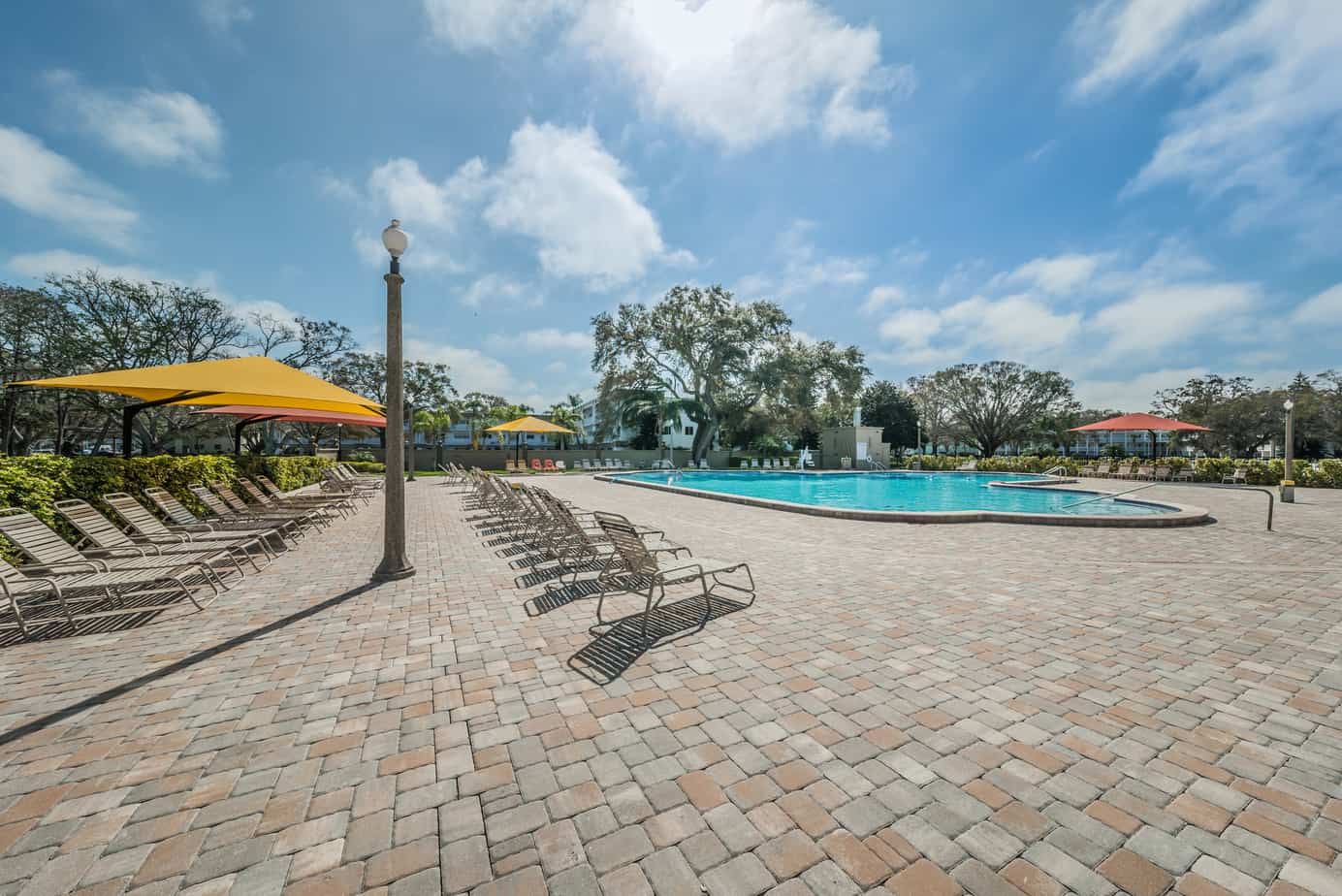 28-2285-Israeli-Dr-#17-Clearwater-Fl-33763-Patio and Pool